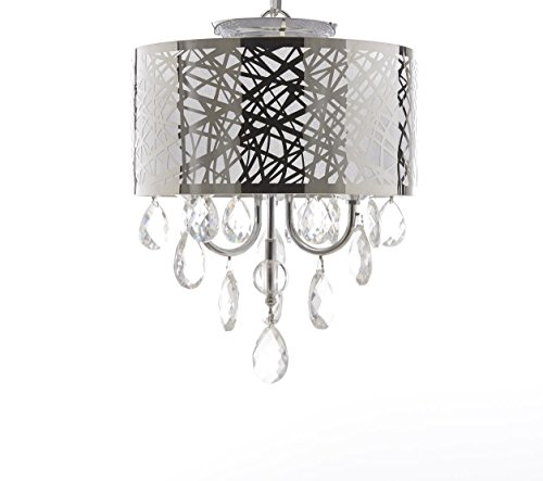 Drum Pendant Light Fixture - 9