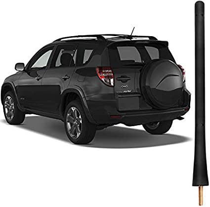 Antena De Goma Corta De 7 Pulgadas Compatible Con Mazda 3//5//6 Protege5 MX-5