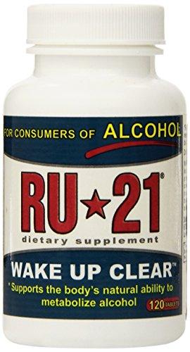 RU-21 RU-21 Wake Up Clear Dietary Supplement, 120 TABS