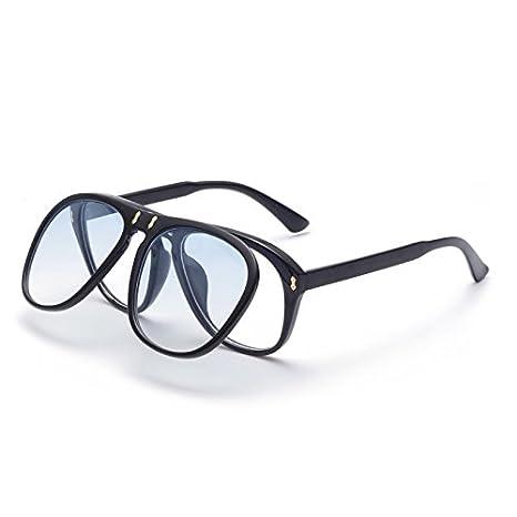 Sunglasses- Gafas de Sol Flip Retro Personalizadas Gafas de ...