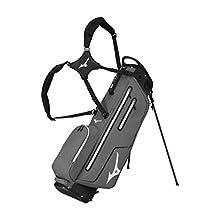 Mizuno K1-LO Stand Bag, Black/Charcoal