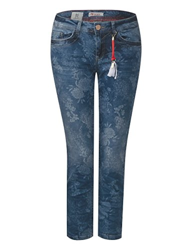 Wash Authentic Laserprint Jean Slim Street Femme Multicolore 11458 One xq70CUP
