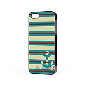 V13.2 Anchor Sea Green Strips iPhone 5 5S case / Sea Green iPhone 5 Case - 4G AArt