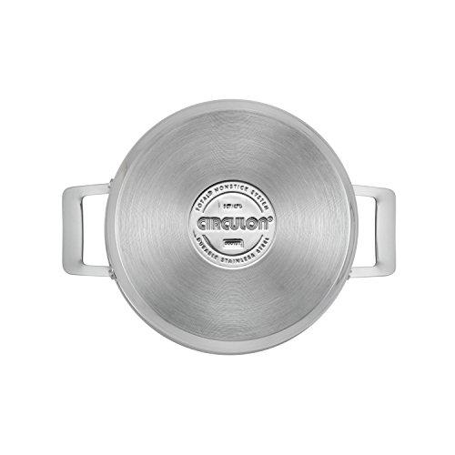 41pEWx%2Bi8eL - Circulon Genesis Stainless Steel Nonstick 10-Piece Cookware Set