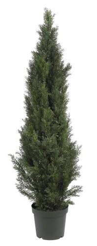 Nearly Natural 5291 Mini Cedar Pine Tree, 5-Feet, Green