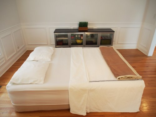 SimplySleeper SS-83Q Queen Raised Air Bed with Flock Top and Quick Inflating Built-in Pump by SimplySleeper (Image #7)