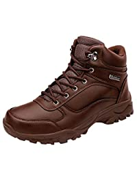 Couple Hiking Shoes Fahion High Top Non-Slip Walking Outdoor Shoes Plus Size