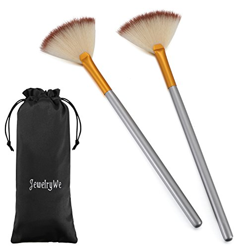 - JewelryWe Pack of 2 Fan Mask Brushes Acid Applicator for Glycolic Peel/Masques