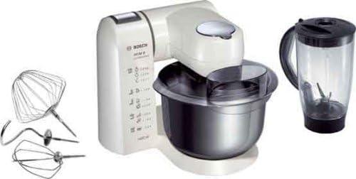 Bosch mum82 W1 Robot de cocina con carcasa de metal blanco nacarado: Amazon.es: Hogar