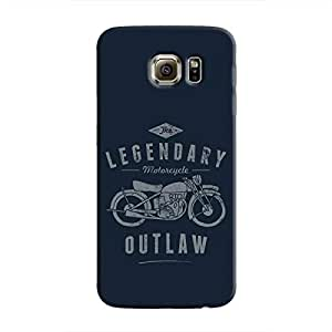 Cover It Up - Legendary Outlaw Galaxy S6 Edge Hard Case