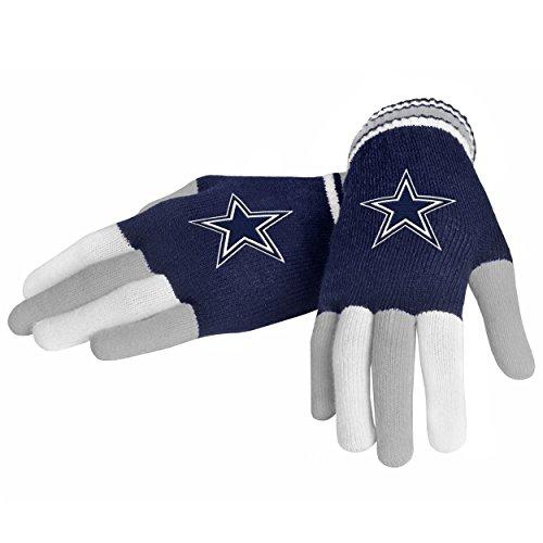 NFL Dallas Cowboys Multi color Team Knit (Cowboy Gloves)