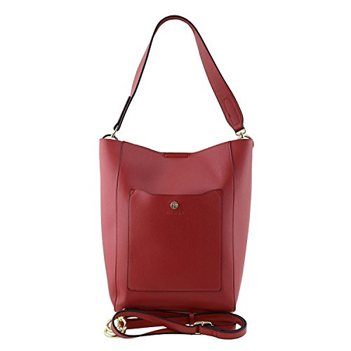 Paula Alonso Smooth Red Bag Handle