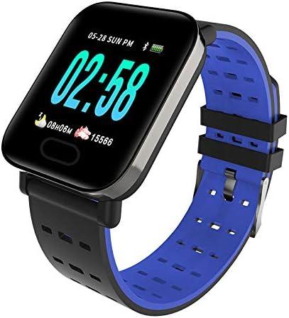 HUAKLIN A6 Pulsera Inteligente Ultra-Long Reloj Bluetooth en Espera en Tiempo Real monitoreo de la frecuencia cardíaca Impermeable medidor fábrica Ventas directas