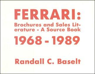 Ferrari Brochures and Sales Literature 1968-1989