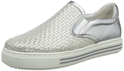 CafèNoir Kdd428, Sneaker a Collo Alto Donna argento