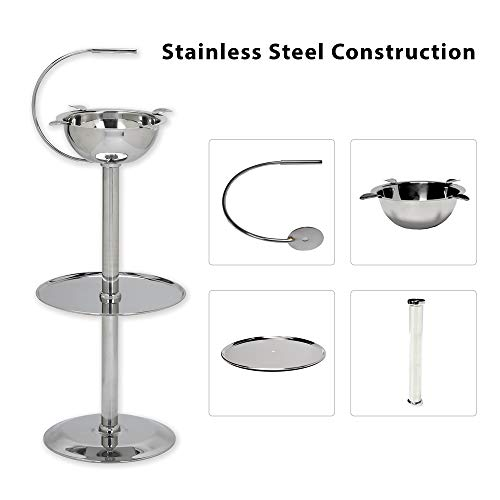 New Stinky Cigar Ashtrays Floor Standing Stainless Steel