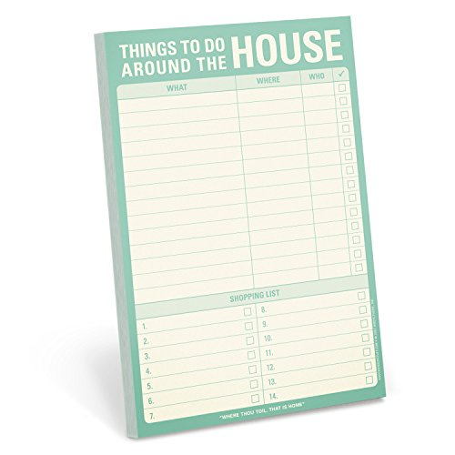 Knock Knock 12045 Things to Do Note Pad
