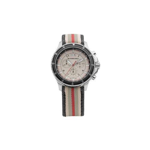Burberry Endurance Mens Fabric Chronograph Watch ()