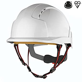 Casco de escalada industrial, de JSP AJS260-000-100 EVOLite Skyworker, color