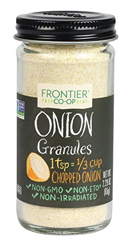 Frontier Natural Products Onion, White Granules, 2.29-Ounce ()
