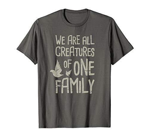 (Catholic St Francis T-Shirt / Catholicism Gift Ideas Family)