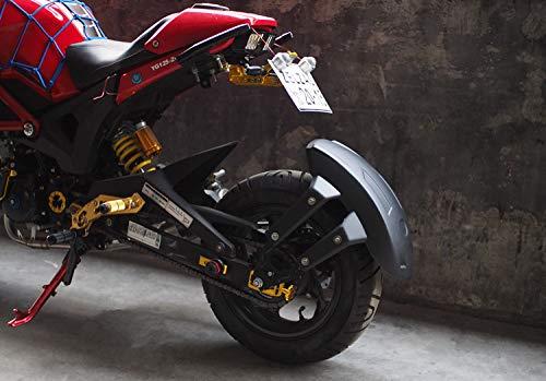 Color Negro ETbotu Guardabarros Trasero de pl/ástico para Motocicleta MSX125