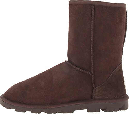 UGG Women's Essential Short Chocolate Boot 6 B - Medium by UGG (Image #1)