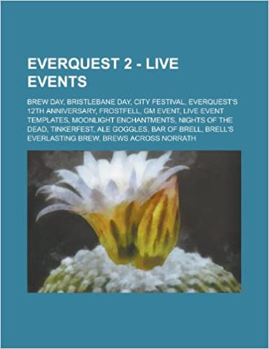 Everquest 2 Live Events Brew Day Bristlebane Day City Festival