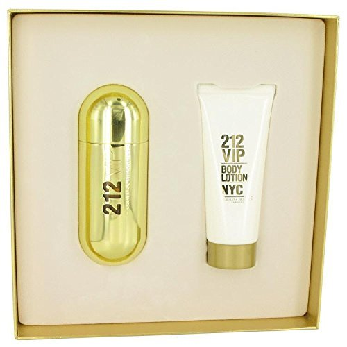 212 Vip by Carolina Herrera For Women Gift set2.7 oz Eau De Parfum Spray + 3.4 oz Body Lotion by Carolina Herrera by Carolina Herrera
