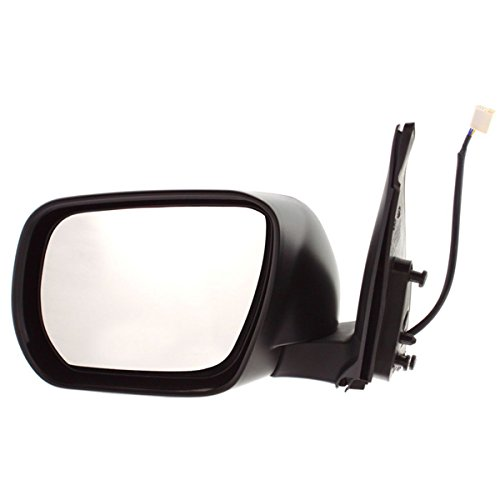 - 2006 2007 2008 2009 2010 2011 2012 2013 Suzuki Grand Vitara Power Unheated Non-Heat (without Turn Signal Light/Lamp) Smooth Black Paint to Match Rear View Mirror Left Driver Side (06 07 08 09 10 11 12 13)