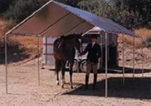 10 39 x 20 39 resistente al aire libre toldo for Sujeciones para toldos