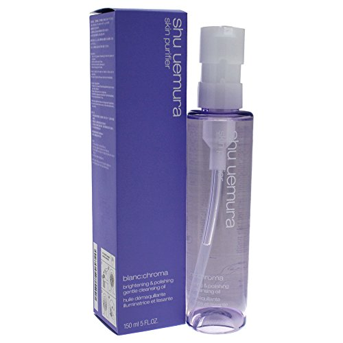Shu Uemura Cleansing Oil - Shu Uemura Blanc:chroma Brightening and Polishing Gentle Cleansing Oil, 5 Ounce