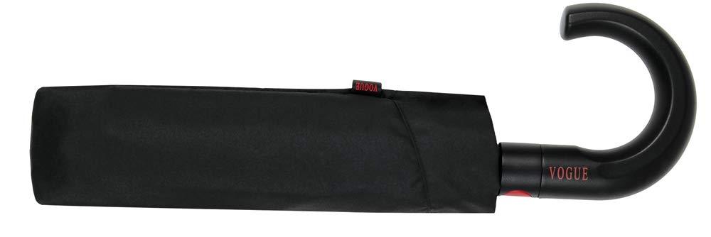 Paraguas Plegable con fácil Apertura automática. Paraguas Vogue Elegante y Funcional, antiviento y con Acabado Teflón Que repele el Agua.