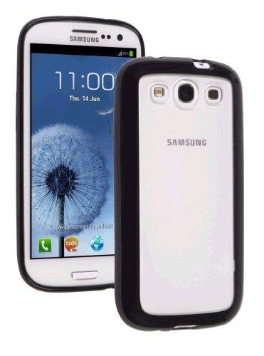 - Ventev 576356 DuraSHELL Case for Samsung Galaxy S III - Retail Packaging - Clear PC/Black