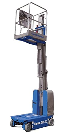 Genie Runabout, GR-20, Self-Propelled Electric Aerial Work Platform, Load Capacity 350 lbs, Lift Height 19' 9""