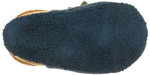 Pololo Pololo Dino - Zapatillas de casa Bebé-Niñas Grün (Karibik)