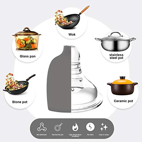Silicone Kitchen Cooking Utensils Set, Fungun 27 Pcs Kitchen Utensil Set with Stainless Steel Handle - Kitchen Gadgets Cookware Set, Non-stick Kitchen Tool Set - Grey …