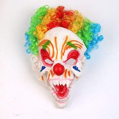 WSJDE Carnaval Miedo Fiesta Máscara Divertida Horror Máscara ...