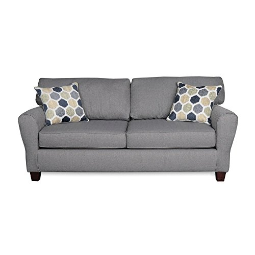 Sofab Brooke II Sofa with 2 Reversible Accent Pillows