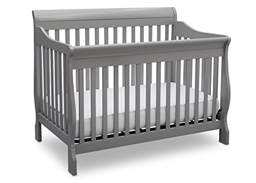 Convertible Crib Room Set - Delta Children Canton 4-in-1 Convertible Baby Crib, Grey
