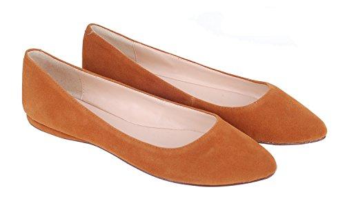 Queenfoot Suede C Pour light Brown Mocassins Femme Pump602 HwBqgHRr