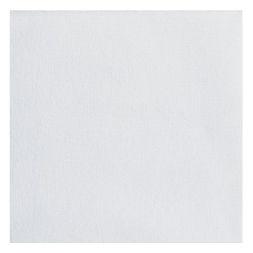 """Hoffmaster 046118 Linen-Like Select Beverage Napkin, 1/4 Fold, 10"""" Length x 10"""" Width, White (Case of 1000) from Hoffmaster"""