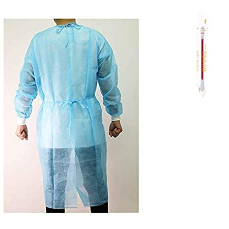 Roxtak – Juego de 10 blusas de protección desechables para ...