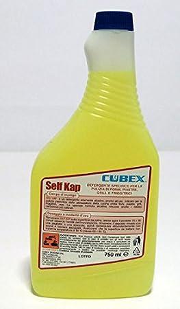 Limpiador Desengrasante Detergente para campanas y Self freidora Kap 12 x 750 ml: Amazon.es: Hogar