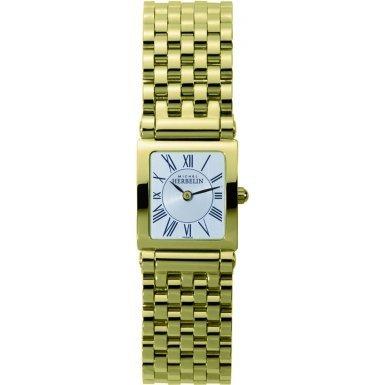 Michel Herbelin 17149-BP01 Ladies Antares Gold Plated Bracelet Watch
