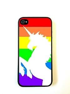 Rainbow Unicorn iphone 5 Case Fits iphone 5- Designer TPU Case Verizon AT&T S...