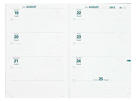 Amazon.com : Quo Vadis 5601Q5-2020 Hebdo Refill for Year ...