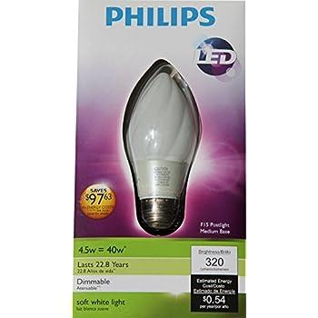Philips 423772 4 watt 40 watt f15 led post light 2700k light bulb 429340 philips led 45 watt post light aloadofball Choice Image