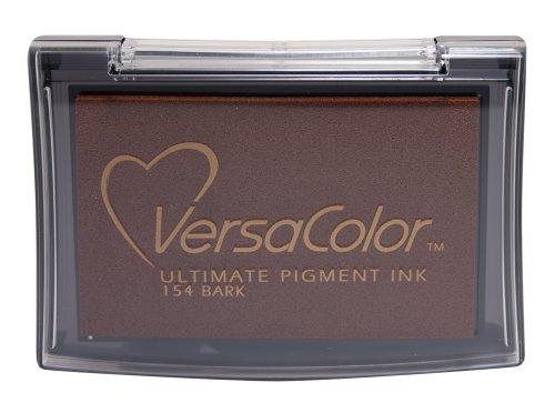 Tsukineko Full-Size VersaColor Ultimate Pigment Inkpad, Bark