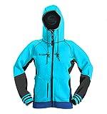Platinum Sun Unisex Neoprene Jacket Hoodie Aqua XS